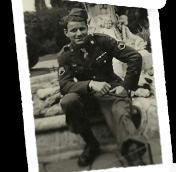 Lloyd John Keleny in England, 1945