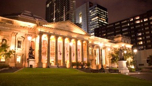 State_Library_at_Night